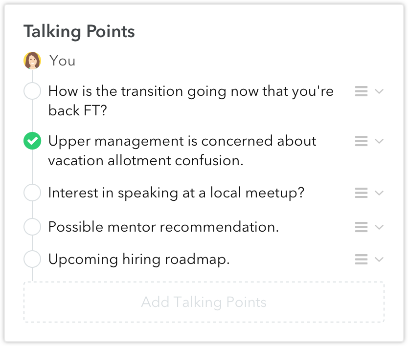 11 Meetings Small Improvements