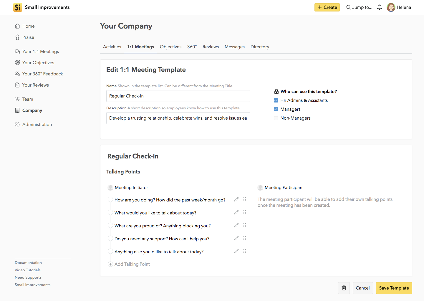11 Meeting Templates Guide Your Team To Better Conversations